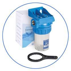 Φιλτροθήκη Μονή 5″ FHPR5-12-WB Aqua Filter